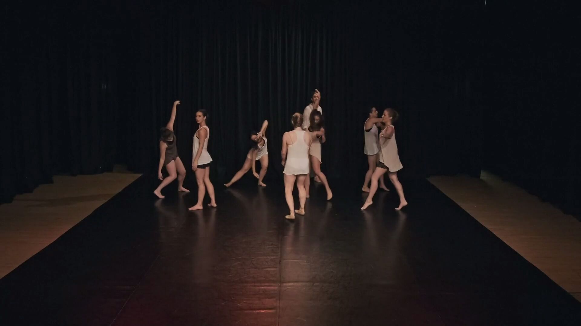 Hack Ballet performance at the Margaret Shepherd Studio Theatre